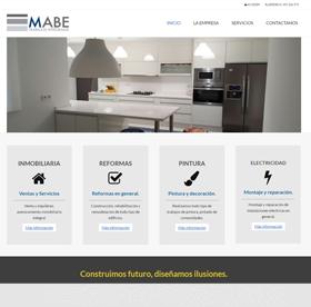 Pagina web para la empresa mabesl.com, situada en Alcala de Guadaira